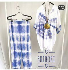 Shibori Tie Dye, Tops, Women, Fashion, Moda, Fashion Styles, Fashion Illustrations, Woman