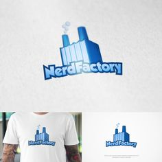Nerd Factory Logo design