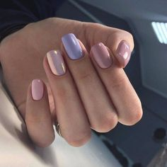 70 Summer Best Stunning Square Nails Design include Acrylic Nails and Matte Nails - Diaror Diary - Page 56 ♥ 𝕴𝖋 𝖀 𝕷𝖎𝖐𝖊 𝕱𝖔𝖑𝖑𝖔𝖜 𝖀𝖘! Square Nail Designs, Simple Nail Art Designs, Best Nail Art Designs, Gelish Nails, Nail Manicure, Gel Nail, Shellac, Easy Nails, Cute Nails