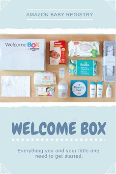 Let us help you welcome your little one with a box full of new mom must-haves. Sign up for your Amazon Baby Registry today!