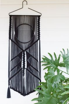 Macrame Wall Hanging // Wall Art // Fiber Art // Tapestry // Weaving // Home Decor // Boho Design // Folk // Ico Traders Collaboration