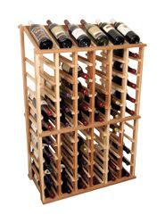 Nice quality Designer Series 66 Bottle Floor Wine Rack By Wine Cellar Innovations Wine Cellar Innovations, Wine Bottle Rack, Wood Wine Racks, Flat Shapes, Wine Storage, Bar Furniture, Craft Stick Crafts, Craft Ideas, Diy Crafts