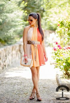 Summer time....love this dress