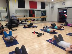 Core work 5:30 am bootcamp at kineticyql kinetic indoor cycle and fitness