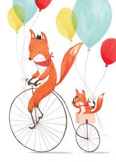 Fox/Penny Farthing