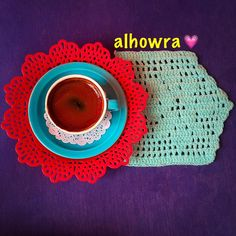 Crochet — #coffeelover #coffeetime #turkishcoffee #coffee... قهوة وكروشية العشق الابدي