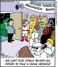 live long and prosper my friend Star Wars Halloween, Halloween Fun, Halloween Cartoons, Halloween Humor, Star Trek Characters, Funny Horror, Cartoon Jokes, Nerd Humor, Smiles And Laughs