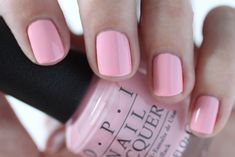 OPI Giveaway - OPI Retro Summer Collection Nail Whats The Double Scoop Light Pink Cream Nail Polish