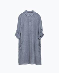 LONG TUNIC-View All-DRESSES-WOMAN   ZARA United States