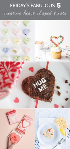 5 Creative Heart Shaped Treats