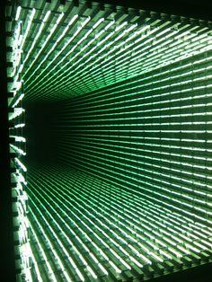 Light Corridor ivan navarro
