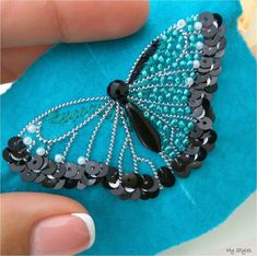 The Effective Pictures We Offer You About bead embroidery jewelry patterns A quality picture can tell you man Bead Embroidery Tutorial, Bead Embroidery Patterns, Bead Embroidery Jewelry, Beaded Jewelry Patterns, Hand Embroidery Designs, Ribbon Embroidery, Beading Patterns, Art Patterns, Mosaic Patterns
