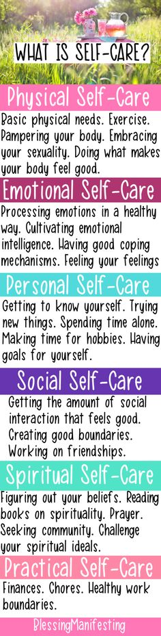 What is Self-Care? 6 Types You Need To Know