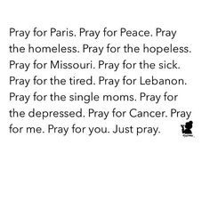 Pray for Philly. Pray for Chicago. Pray for Everything. Allahu Akbar.