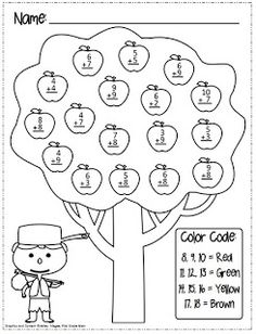 Johnny Appleseed Sequencing- made for 1st grade