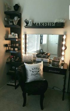Vanity Mirror With Lights Walmart Extraordinary Small Space And Low Budget But Want To Look Glam My Fiancé Built Review