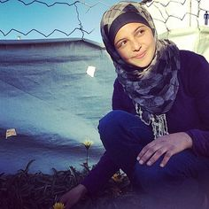 """""""Dubbed the 'Malala' of Syrian refugees, 16-year-old Mezon Almellehan goes from tent to tent each morning to encourage girls in her camp to go to school. 'We have the right to attend school and I feel I have a responsibility towards the community,' Almellehan told the Malala Fund. 'As a girl, I can find friendly ways to convince a girl to continue with her studies.'"""" -- via Half the Sky"""