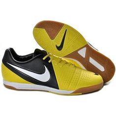 http://www.asneakers4u.com Sonic Yellow Dark Grey White Soccer Shoes Football Boots Nike CTR360 Maestri III IC