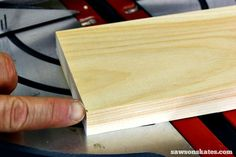 7 miter saw tricks and tips to make the most of your saw - Don't cut on the line. Leaving the line allows you to fine tune the cut if you need the board to be a little shorter. Essential Woodworking Tools, Best Woodworking Tools, Woodworking Projects, Garage Workbench Plans, Miter Saw Reviews, Tool Bench, Woodworking Inspiration, Shop Layout, Diy Furniture Projects