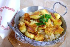 Pinzgauer Erdepfi- oder Freitagnidei Sauerkraut, Sugar And Spice, Gnocchi, Great Recipes, Potato Salad, Bbq, Spices, Food And Drink, Veggies