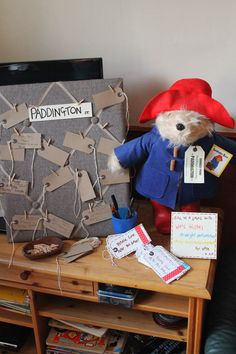 Clarina's Contemplations: Please Look After This Baby. A Paddington Bear Baby Shower! Baby Shower Parties, Baby Shower Themes, Baby Shower Decorations, Shower Ideas, Harry Birthday, 1st Boy Birthday, Royal Baby Party, Paddington Bear Party, Baby Motiv