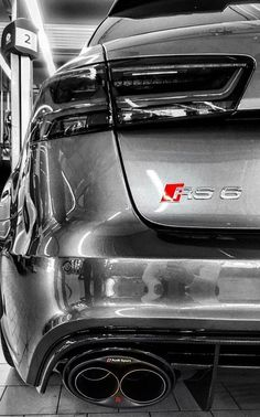 RS6 Preformance With Audi Sport Exaust