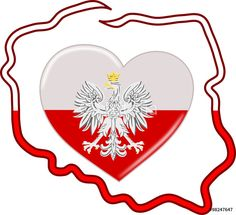 Polish Language, Patriots, Homeschool, Crochet Patterns, Flag, Smileys, Backgrounds, Poland, Crochet Chart