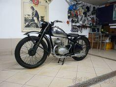 ČZ 125t  r.v.1947 - 1 Vintage Looks, Cars And Motorcycles, Rv, Bike, Bicycle, Motorhome, Bicycles, Camper