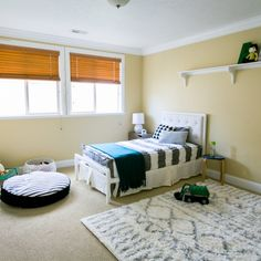 See how Havenly online interior design services transformed a boy's room!