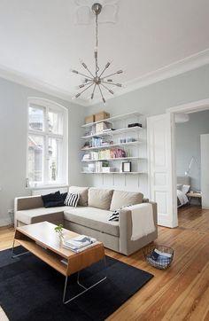 壁色・床材にこだわった、北欧ミニマムデザインの1人暮らし部屋 in ポーランド – VIP WORKS
