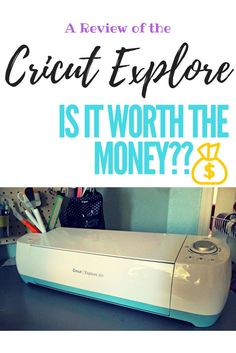 A review of the Cricut Explore Air and One.  Is it worth the money??  Check out what it can make!