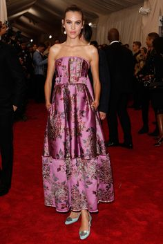 Alexa Chung - Met Gala 2015
