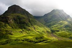 Mamore Mountains, Scotland