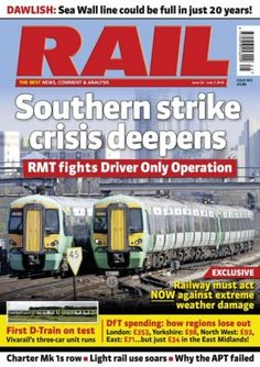 Rail Issue 803 digital magazine - Read the digital edition by Magzter on your iPad, iPhone, Android, Tablet Devices, Windows 8, PC, Mac and the Web.