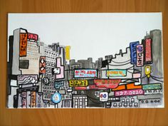 Ink Korean Signboards by cheism on Etsy, $85.00
