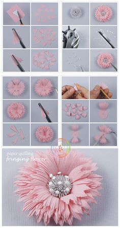 Made by Claire- Quilling tutorials 2 (Searched by Châu Khang)