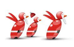 Running Santas!