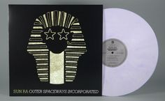 """Off the Press: Sun Ra """"Outer Spaceways Incorporated"""" 180g White and Purple Swirl Vinyl LP – Record Store Day 2014"""
