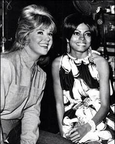 With Diana Ross