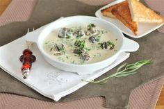 Escargot in a Brandy Cream Sauce | Tasty Kitchen: A Happy Recipe Community!