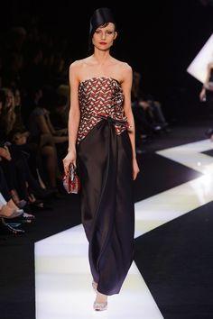 Spring 2013 Couture Armani Privé Collection