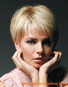 "Стрижка пикси на тонкие волосы #Фото Вернуться в раздел ""Стрижка пикси"" http://www.salon-akadem.info/strizhka-piksi-na-tonkie-volosy.php"