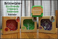 Brinware's Gorgeous Eco-Tableware for Tots {Review}