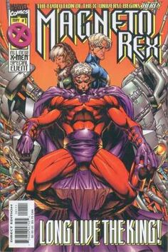 Magneto Rex Vol 1 - 1, 2, 3 (3 Comics Full Run Mini Series)