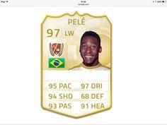 Pelé FIFA 97 LW / 97 DRI  Sir. Pelé o melhor jogador de futebol da história!!!