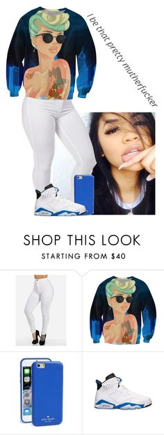 """""""I be that pretty MF"""" by hellacurlz2000 on Polyvore featuring Kate Spade and Retrò"""