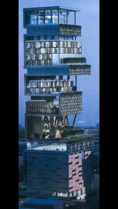 Antilla, the first $1,000,000,000 home