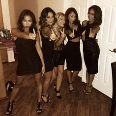 Pin for Later: 12 Ways to Rock Your Favorite LBD This Halloween Posh Spice