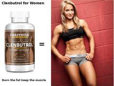 Clenbutrol for women, burn fat maintain lean muscle. https://crazybulkcycles.com/crazybulk-clenbutrol-benefits/