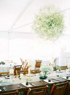 hanging baby's breath wedding - Google Search